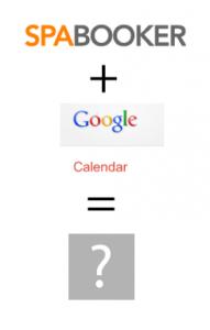 spabooker and google calendar